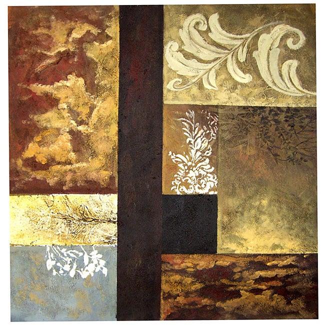 'Metamorphosis' Hand-painted Gallery-wrapped Canvas Art