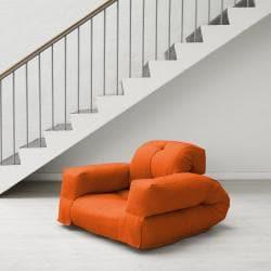 Orange Fresh Futon Hippo