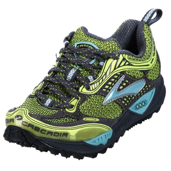 Brooks Women's 'Cascadia' Green Athletic Trail Shoes