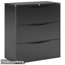 Mayline CSII Steel Freestanding Three-drawer Lateral File System