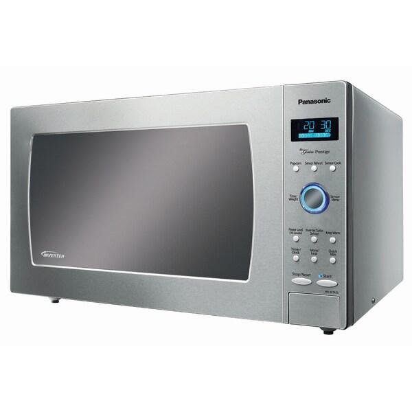 Panasonic NN-SE982S Genius Prestige 1250-watt Stainless Steel Microwave