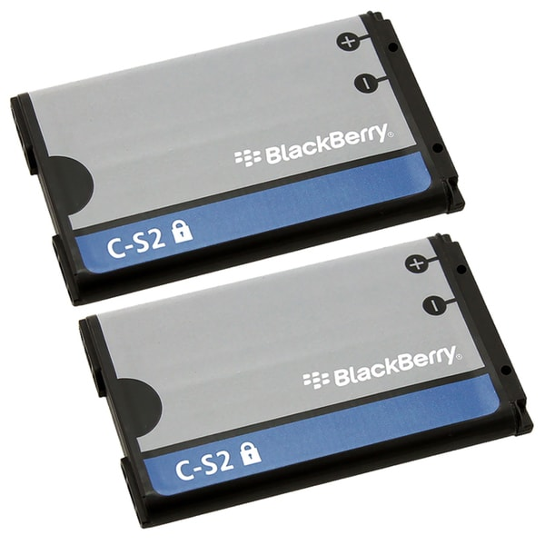 BlackBerry Curve 8520 / 9300 Battery for C-S2/BAT-06860-004 (Pack of 2)