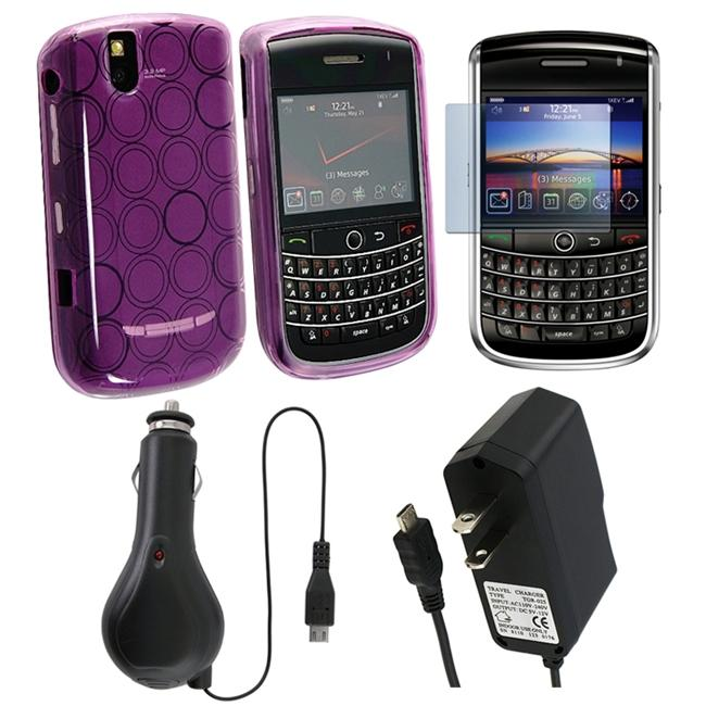 4-piece Combo Kit for Blackberry Tour 9630