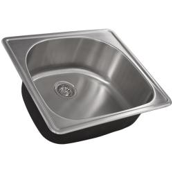 Ticor Stainless Steel 18-gauge Overmount Kitchen Sink