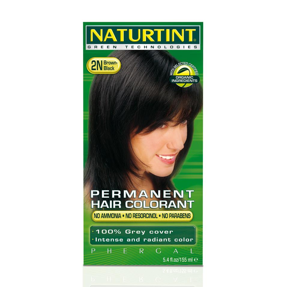 Naturtint Permanent 2N Black Brown 5.4-ounce Hair Colorants (Pack of 3)