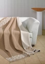 Decobena Wool Blend Throw