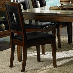 dijon 7 piece cracked glass table set overstock shopping big discounts on dining sets. Black Bedroom Furniture Sets. Home Design Ideas