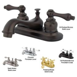 Restoration Classic Two-handle Bathroom Faucet
