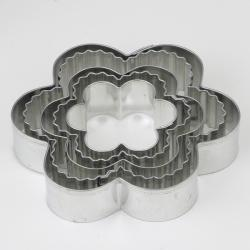 Flower Cookie Cutters (Pack of 5)