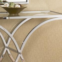Parker Chrome Sofa Table