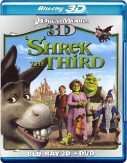 Shrek The Third 3D (Blu-ray/DVD)