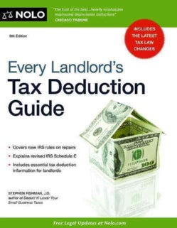 Every Landlord's Tax Deduction Guide (Paperback)