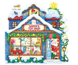 Santa's Toy Shop (Board book)