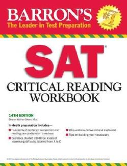 Barron's Sat Critical Reading Workbook (Paperback)
