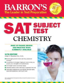 Barron's Sat Subject Test Chemistry (Paperback)