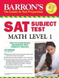 Barron's Sat Subject Test Math Level 1 (Paperback)