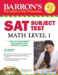 Barron's Sat Subject Test Math Level 1