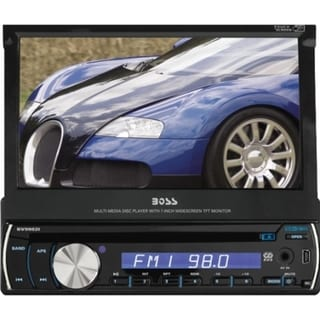 "Boss Audio BV9982I Car DVD Player - 7"" Touchscreen LCD - Single DIN"