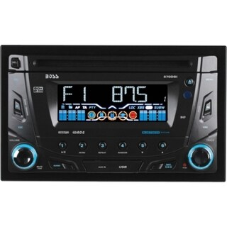 BOSS AUDIO 870DBI Double-DIN CD/MP3 Player, Receiver, Bluetooth, Detachable Front Panel, Wireless Remote - Plays MP3/CD/USB/SD CD R/RW Audio