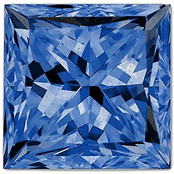 Star Legacy Pet Memorial Diamond - .25 CT Princess-Cut Fancy Blue Diamond