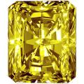 Star Legacy Pet Memorial Diamond - 2.0 CT Radiant-Cut Fancy Yellow Diamond