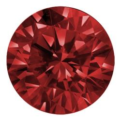 Star Legacy Pet Memorial Diamond - .50 CT Round-Cut Fancy Red Diamond