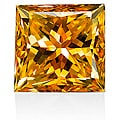 Star Legacy Pet Memorial Diamond - .50 CT Princess-Cut Fancy Cognac Diamond
