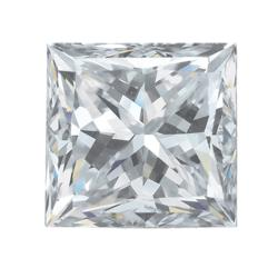 Star Legacy Pet Memorial Diamond - .25 CT Princess-Cut Fancy White Diamond