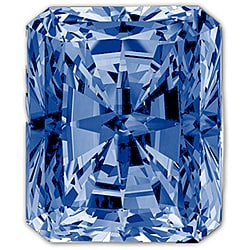 Star Legacy Pet Memorial Diamond - .25 CT Radiant-Cut Fancy Blue Diamond