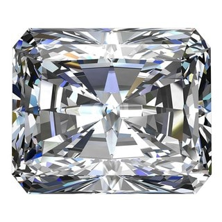Star Legacy Pet Memorial Diamond - .25 Radiant-Cut Fancy White Diamond