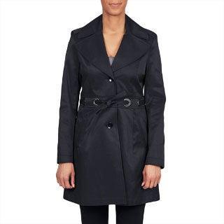 Via Spiga Women's Belted Water Resistant Trench Coat