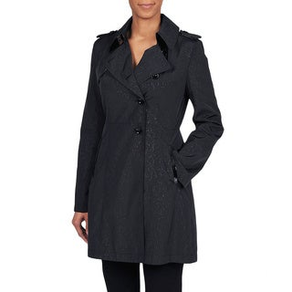 Via Spiga Women's Asymmetrical Water Resistant Trench