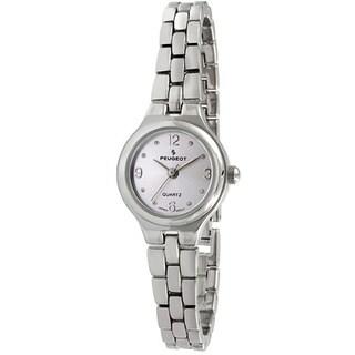 Peugeot Women's '1015PR' Silvertone Bracelet Watch