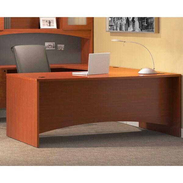 Mayline Brighton Series Rectangular Laminate Wood Desk 60