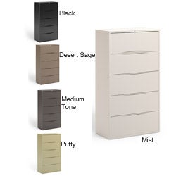Mayline CSII Freestanding 5-Drawer Lateral File