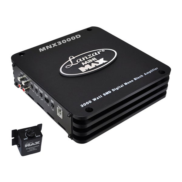 Lanzar 3000W SMD Mini Digital Mono Block Amplifier