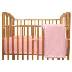 ABC Cotton Percale 3-piece Porta-Crib Bedding Set