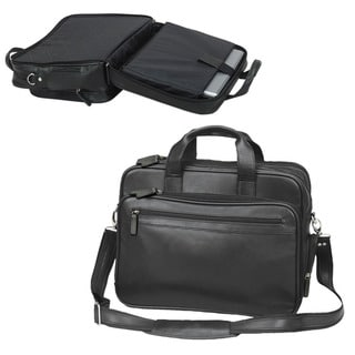The Bostonian Checkpoint-Friendly Leather Laptop Computer Briefcase