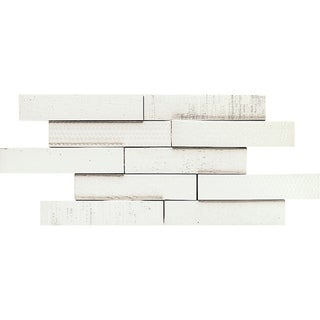 Somertile Aluna Multi-White Porcelain Tiles (Case of 10)
