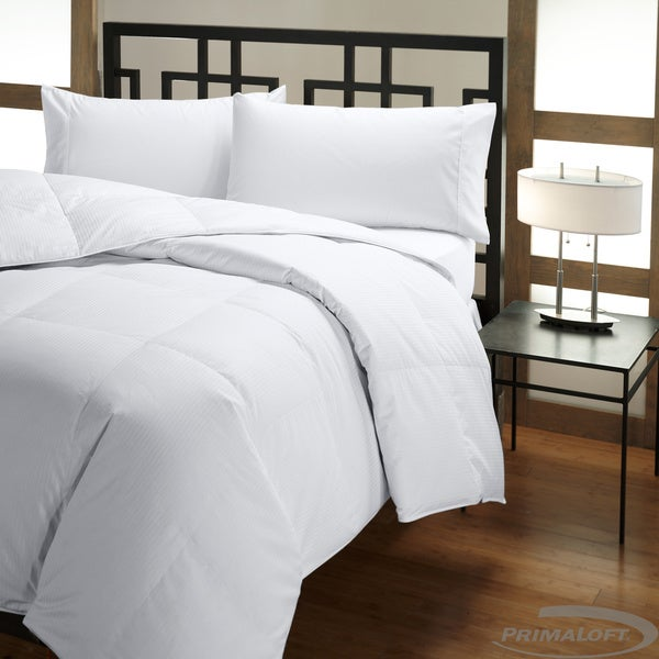 PrimaLoft 500 Thread Count Tencel-Cotton Queen/ King-size Down Alternative Comforter