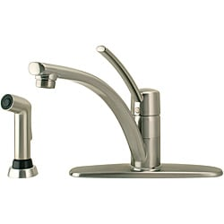 Price Pfister Parisa Single-Handle Stainless Steel Kitchen Faucet