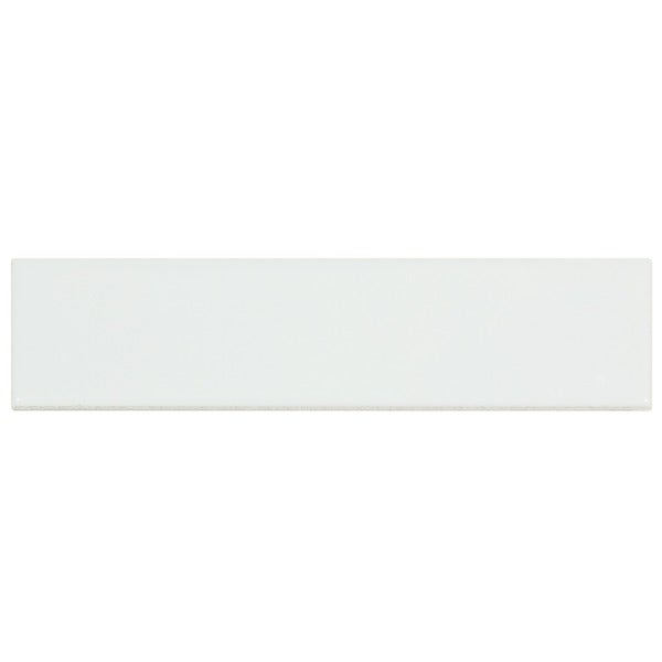 SomerTile Victorian Soho Subway White Porcelain Tiles (Case of 100)
