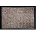 Rubber-Cal Brown Nottingham Entrance Door Mat (1'6 x 2'6)