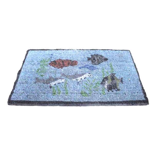 Rubber-Cal Aquarium Coco Outdoor Doormat (1'6 x 2'6)