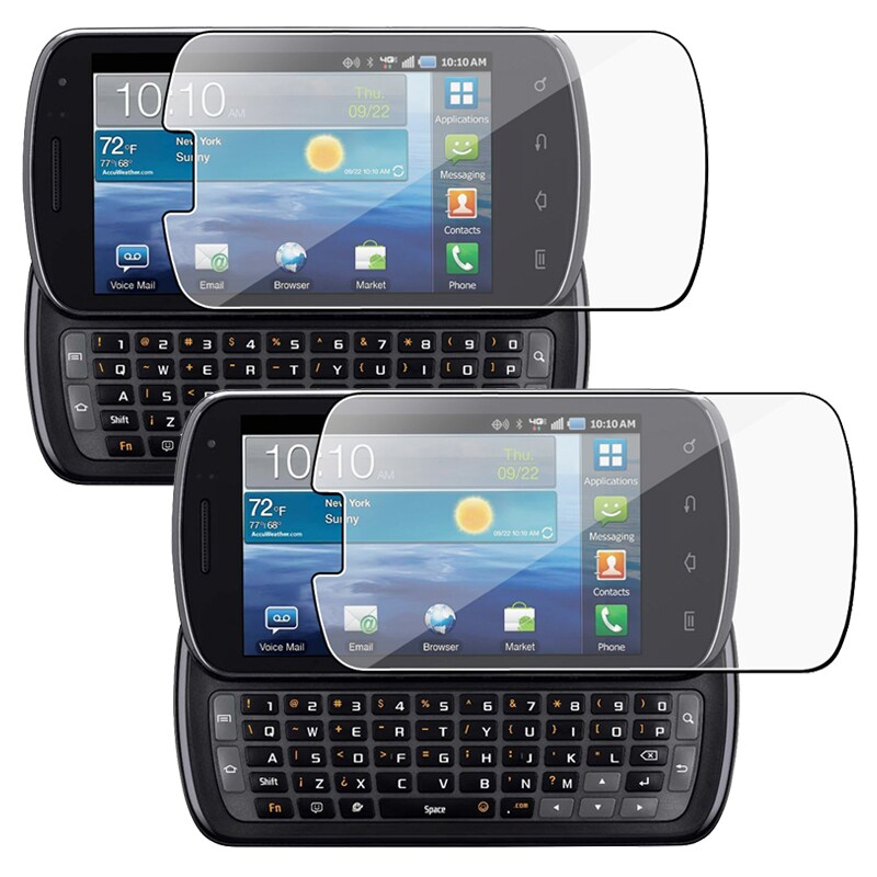 INSTEN Clear Screen Protector for Samsung Stratosphere SCH-i405 (Pack of 2)