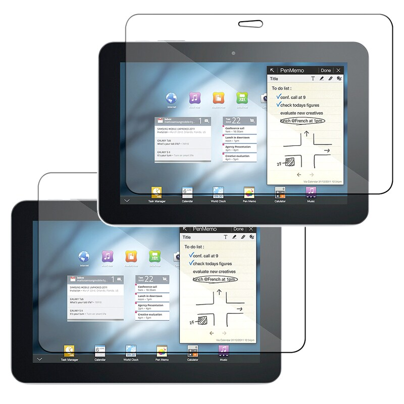INSTEN Clear Screen Protector for Samsung Galaxy Tab 8.9-inch (Pack of 2)