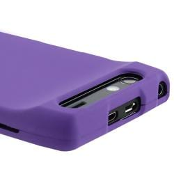 Purple Case/ LCD Protector/ Car Charger for Motorola Droid RAZR XT910