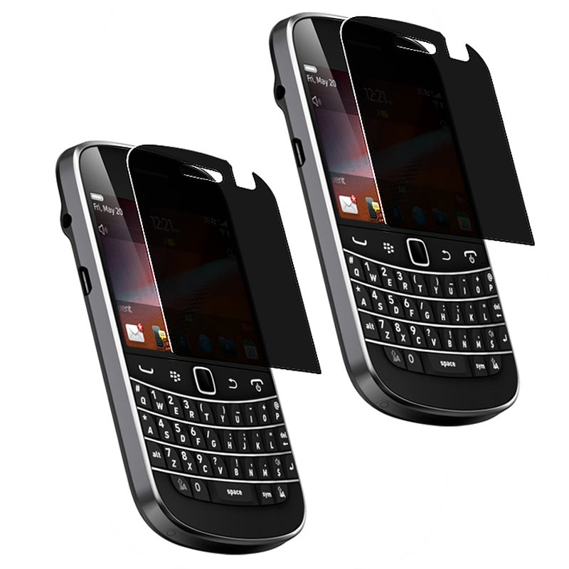 INSTEN Privacy Filter Screen Protector for BlackBerry Bold 9900/ 9930 (Pack of 2)