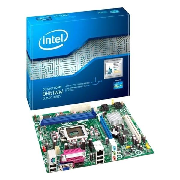 Intel Classic DH61WW Desktop Motherboard - Intel Chipset - Socket H2