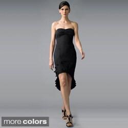 Issue New York Women's Ruffled Fan Sweetheart Dress